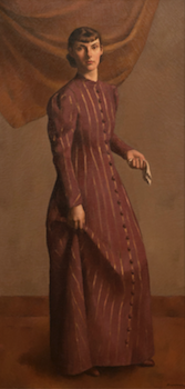 Portrait of Artist's Wife Francis